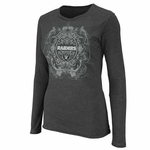 Oakland Raiders Coin Toss Long Sleeve Tee