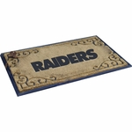Oakland Raiders Coir Fiber Door Mat