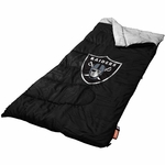 Oakland Raiders Coleman Sleeping Bag