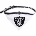 Oakland Raiders Collar Bandana