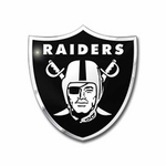 Raiders Color Auto Emblem