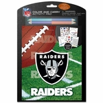 Oakland Raiders Color & Carry Activity Set