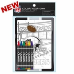 Oakland Raiders Color Your Own Puzzle