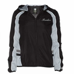 Oakland Raiders Colorblock Lightweight Ladies Jacket