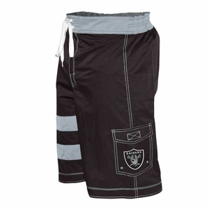 Oakland Raiders Comeback Swim Trunk - Click to enlarge