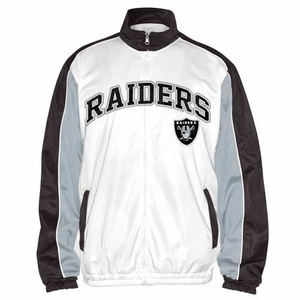 Oakland Raiders Commissioner Track Jacket - Click to enlarge