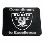 Oakland Raiders Commitment to Excellence Mouse Pad