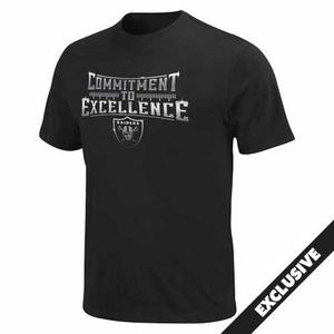 Oakland Raiders Commitment To Excellence Tee - Click to enlarge