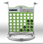 Oakland Raiders Connect Four Game