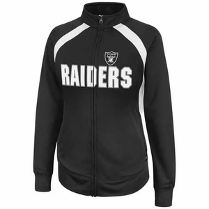 Oakland Raiders Counter II Track Jacket - Click to enlarge