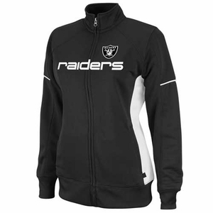 Oakland Raiders Counter Track Jacket - Click to enlarge