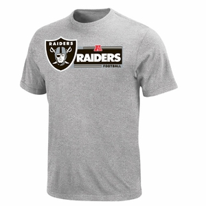 Oakland Raiders Critical Victory VIII Steel Tee - Click to enlarge