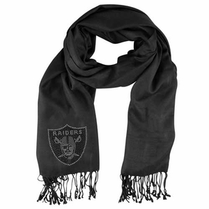 Oakland Raiders Crystal Pashmina - Click to enlarge