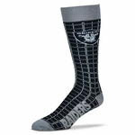 Oakland Raiders D-Plaid Sock