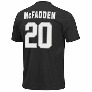 Oakland Raiders Darren McFadden Eligible Receiver II Tee - Click to enlarge