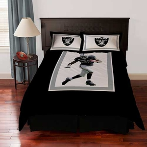 Oakland Raiders Darren McFadden Queen Comforter Set - Click to enlarge