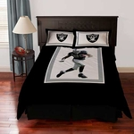 Oakland Raiders Darren McFadden Queen Comforter Set