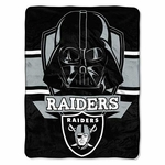 Raiders Darth Vader Micro Raschel Throw