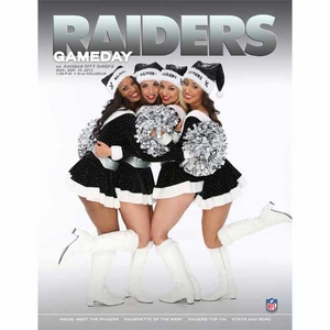 Oakland Raiders December 15th Game Day Program vs Kansas City Chiefs - Click to enlarge