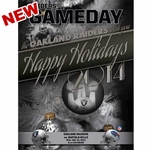 Oakland Raiders December 21st Game Day Program vs. Buffalo Bills