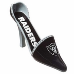 Oakland Raiders Decorative Wine Bottle Holder