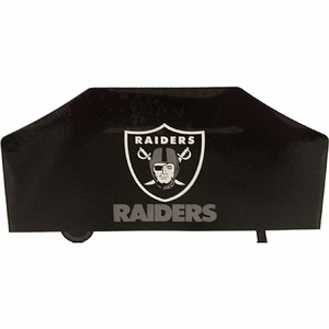 Oakland Raiders Deluxe BBQ Cover - Click to enlarge