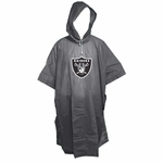 Oakland Raiders Deluxe Poncho