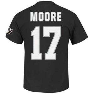 Oakland Raiders Denarius Moore Eligible Receiver II Tee - Click to enlarge