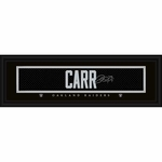 Oakland Raiders Derek Carr Replica Signature Plaque