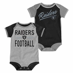 Oakland Raiders Descendant 2 Pack Bodysuit