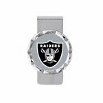 Oakland Raiders Diamond Cut Money Clip