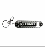 Oakland Raiders Diamonplate Keychain