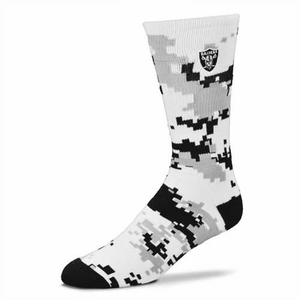 Oakland Raiders Digi Camo Sock - Click to enlarge