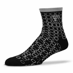 Oakland Raiders Digi Stroke Sock