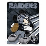 Oakland Raiders Disney 46x60 Micro Fleece Blanket