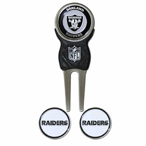 Oakland Raiders Divot Tool Gift Pack - Click to enlarge