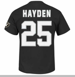 Oakland Raiders DJ Hayden Eligible Receiver II Tee