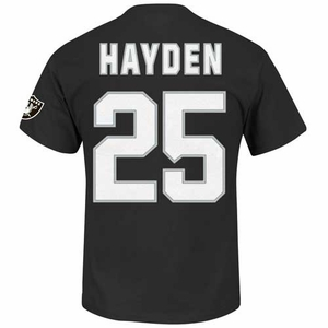 Oakland Raiders DJ Hayden Eligible Receiver II Tee - Click to enlarge