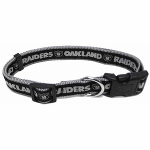 Oakland Raiders Dog Collar - Click to enlarge