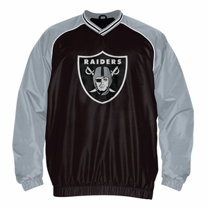 Oakland Raiders Doubleplay Pullover - Click to enlarge