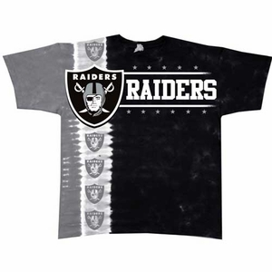 Oakland Raiders Down Field Tee - Click to enlarge
