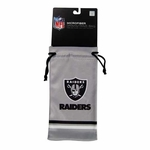 Oakland Raiders Drawstring Sunglass Bag