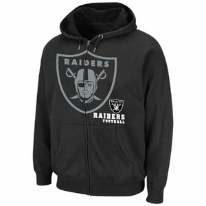 Oakland Raiders Drybase Hooded Fleece - Click to enlarge