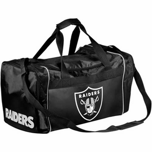 Oakland Raiders Duffle Bag - Click to enlarge