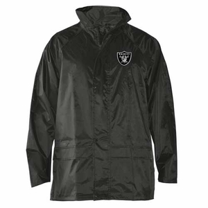 Oakland Raiders Dugout Rainwear Jacket - Click to enlarge