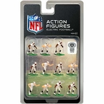 Oakland Raiders Electric Away Jersey Action Figures
