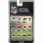 Oakland Raiders Electric Home Jersey Action Figures