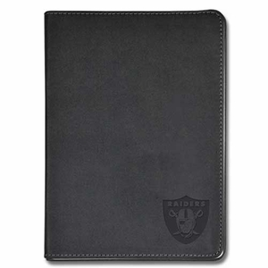 Oakland Raiders Embossed Black Journal - Click to enlarge