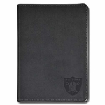Oakland Raiders Embossed Black Journal