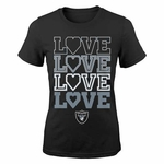 Oakland Raiders Emphatically Short Sleeve Tee